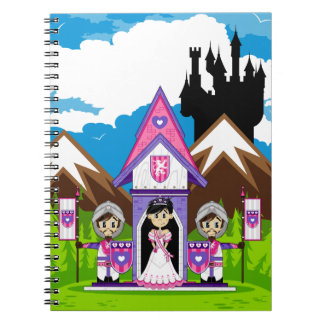 Princess & Knights at Mini Castle Notebook