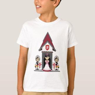 Princess & Knights at Mini Castle T-Shirt