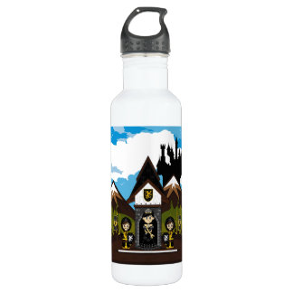 Princess & Knights at Mini Castle Water Bottle