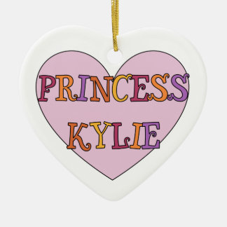 Princess Kylie Ornament