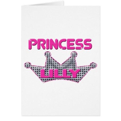 Princess Lilly Greeting Cards