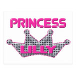 Princess Lilly Postcards
