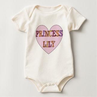 Princess Lily Baby Bodysuit