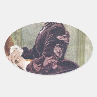 Princess Louise (Duchess of Argyll) Oval Sticker