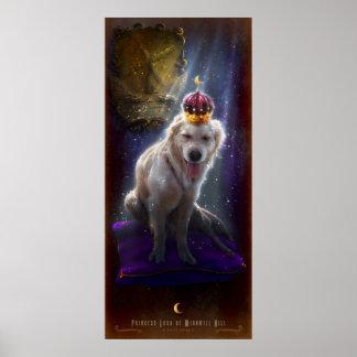 Princess Luna of Windmill Hill Poster