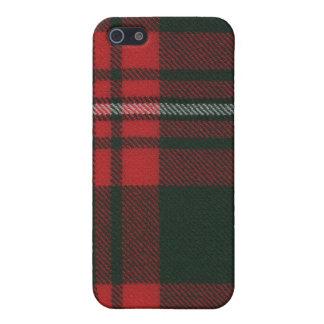 Princess Margaret Rose Modern Tartan iPhone 4 Case