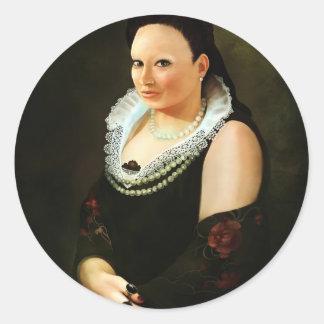 Princess Maria Classic Round Sticker