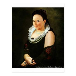 Princess Maria Postcard