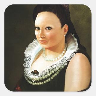 Princess Maria Square Sticker