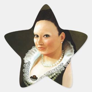 Princess Maria Star Sticker