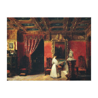 Princess Marie d'Orleans  in her Gothic Studio Canvas Print