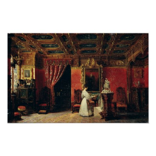 Princess Marie d'Orleans  in her Gothic Studio Print