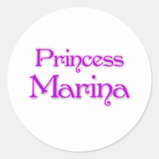 Princess Marina Classic Round Sticker
