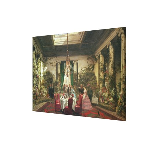 Princess Mathilde's Salle-a-Manger Gallery Wrapped Canvas
