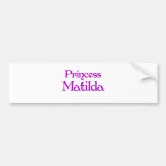 Princess Matilda Bumper Sticker