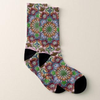 Princess Medallion Socks