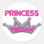 Princess Megan Sticker