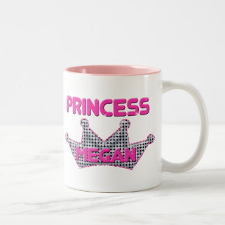 Princess Megan Two-Tone Coffee Mug
