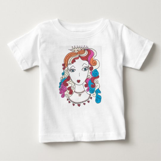 Princess MerMaid Baby T-Shirt