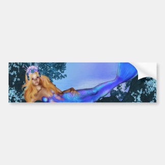 Princess Mermaid Bumper Sticker