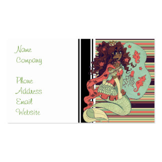 Princess Mermaid Double-Sided Standard Business Cards (Pack Of 100)