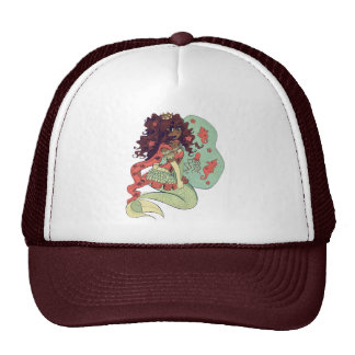 Princess Mermaid Trucker Hat