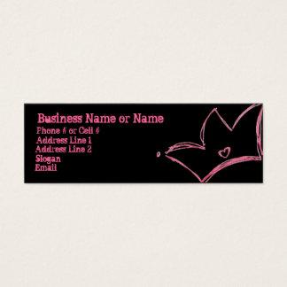Princess Mini Business Card