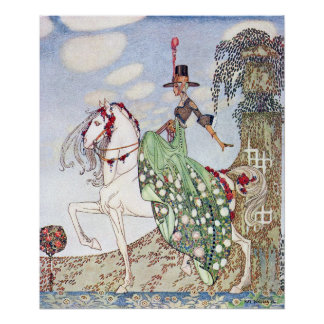 Princess Minon-Minette by Kay Nielsen Poster