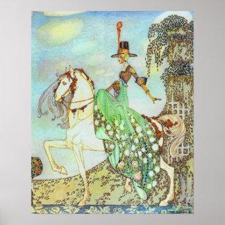 Princess Minon Minette Kay Nielsen Fairy Tale Poster