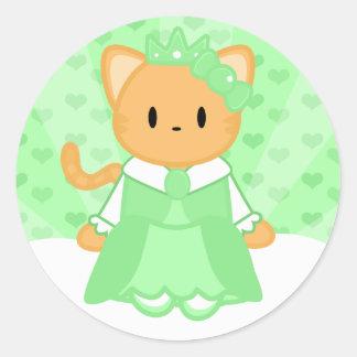 Princess Mint Sticker
