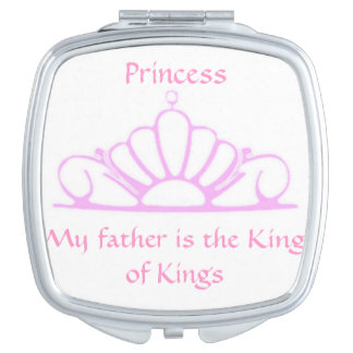 Princess My Father Is King Compact Mirror