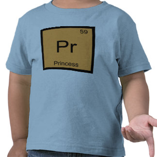Princess Name Chemistry Element Periodic Table T Shirt