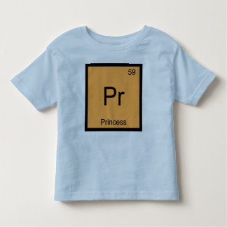 Princess Name Chemistry Element Periodic Table Tshirt