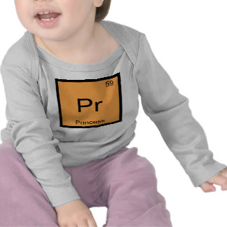 Princess Name Chemistry Element Periodic Table Tees