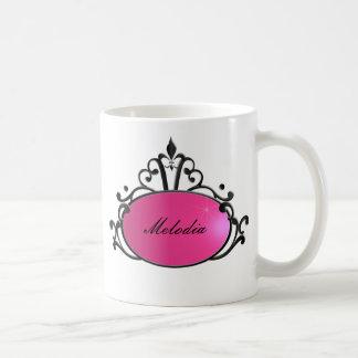 Princess Name Filigree Mugs