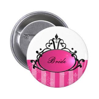 Princess Name Filigree Pinback Button