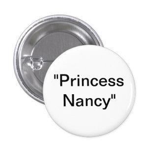 Princess Nancy Pinback Buttons