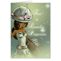"""""""Princess Naomi Birthday Cards"""" Card"""