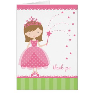 Princess Note Cards