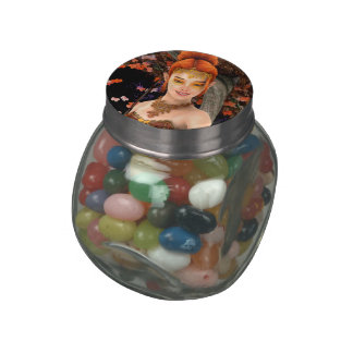 Princess of Autumn Jelly Belly Candy Jar