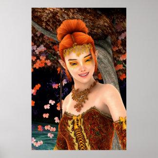 Princess of Autumn Poster