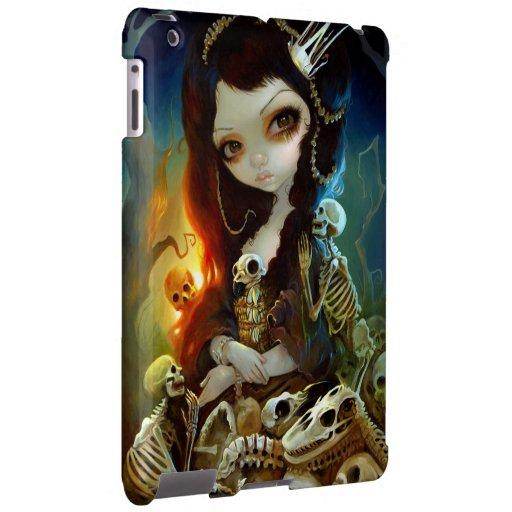 """Princess of Bones"" iPad Case"