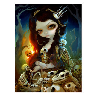 """Princess of Bones"" Postcard"