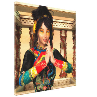 Princess of China Canvas Print