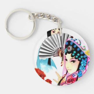 Princess of China Single-Sided Round Acrylic Keychain