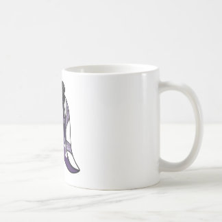Princess of Clubs White Rabbit Mug