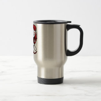 Princess of Diamonds White Rabbit Travel Mug
