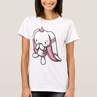 Princess of Hearts White Rabbit T-Shirt