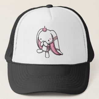 Princess of Hearts White Rabbit Trucker Hat
