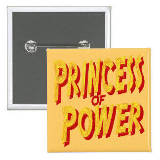 Princess Of  Power-Button 2 Inch Square Button